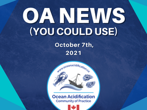 OA News (You Could Use) October 7th, 2021