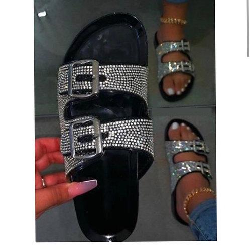Black ice -sandal