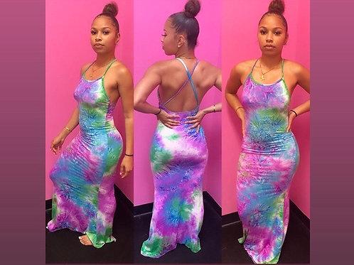 Tropical -dress