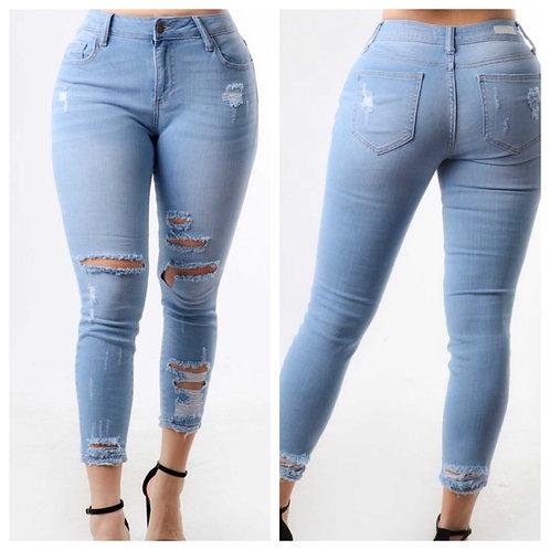 Lo-denim jeans