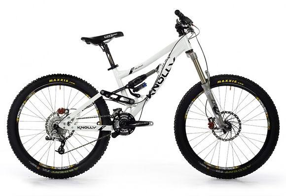 """Knolly Delirium T 26"""" full suspension bike"""