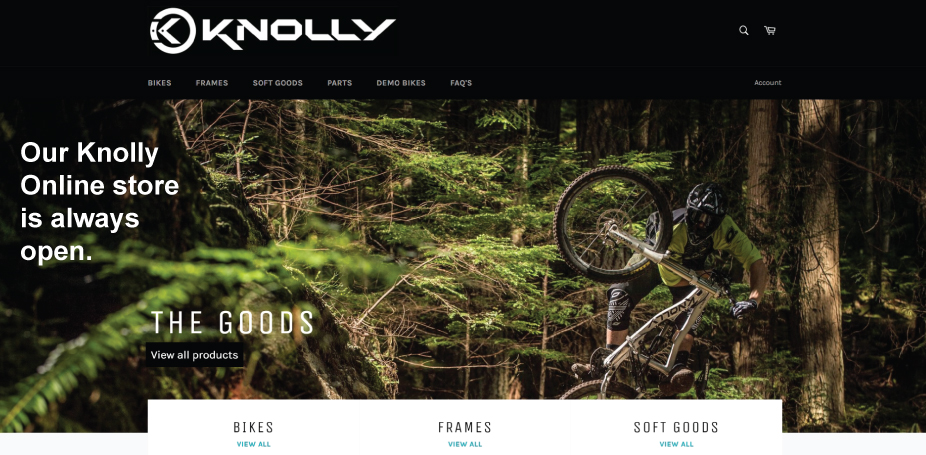 Knolly-bikes-service-parts-softgoods-frames-for-sale