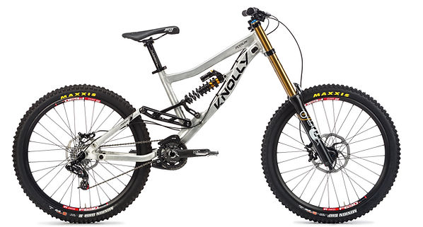 "Knolly Podium 26"" full suspension DH bike"