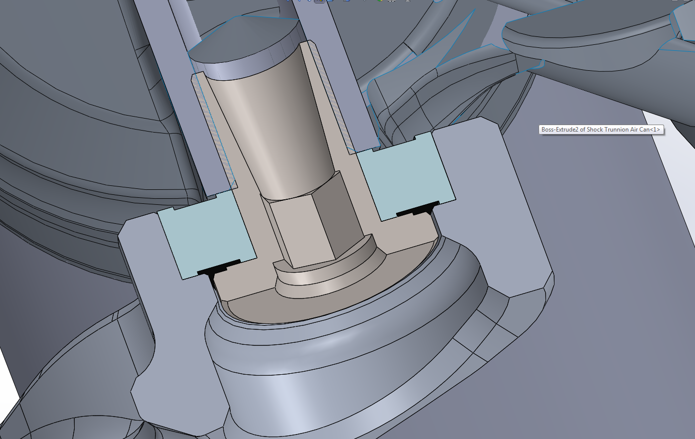 Trunnion Mounted Shock 2