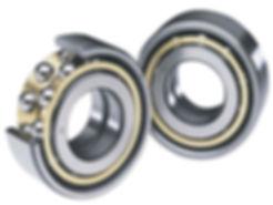 Knolly uses dual row angular contact bearings