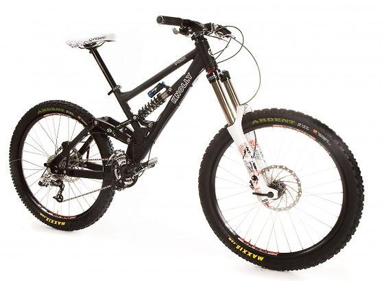 "Knolly V-tach 26"" full suspension bike"