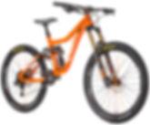 The best freeride super enduro bike the Knolly Delirium full suspension bike