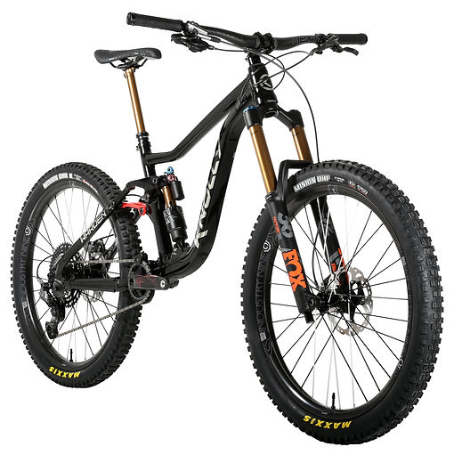 2020 Knolly Warden Alloy V2 Black Chrome angl
