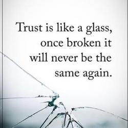 trust is like