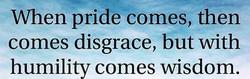 when pride
