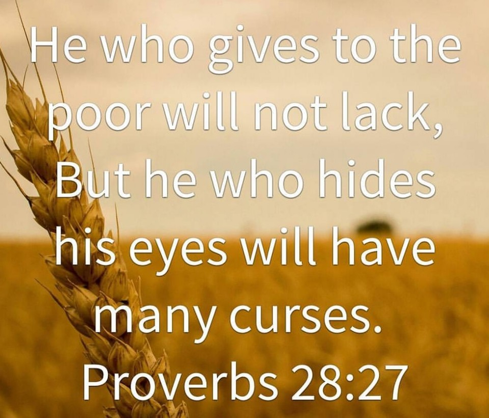 he who gives