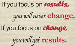 if you focus on
