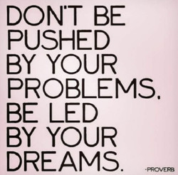 dont be pushed