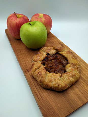 Apple Galette with Cheddar Crust