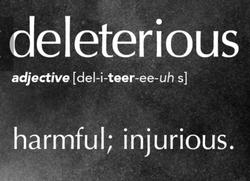 deleterious