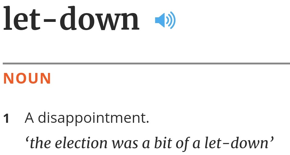 let-down