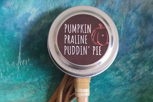 Pumpkin Praline Puddin' Pie Min-Tin Candle