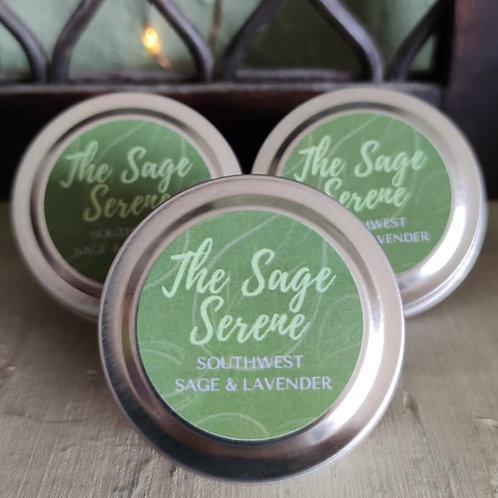 The Sage Serene Min-Tin Candle