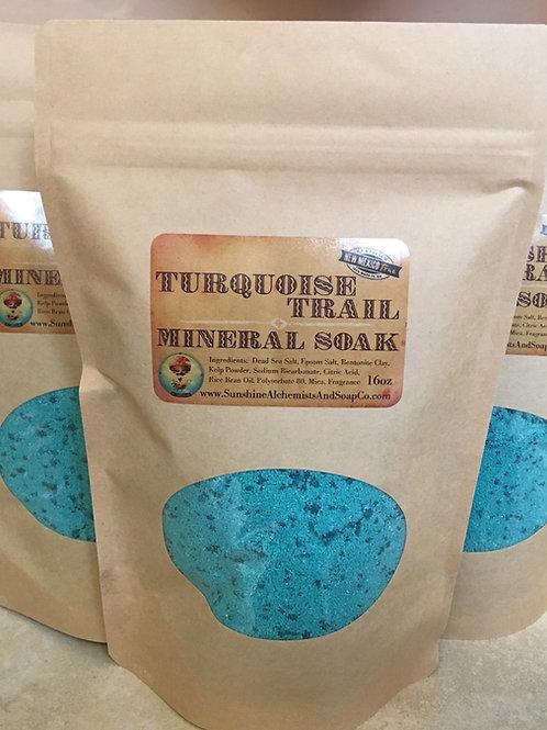 Turquoise Trail Mineral Soak