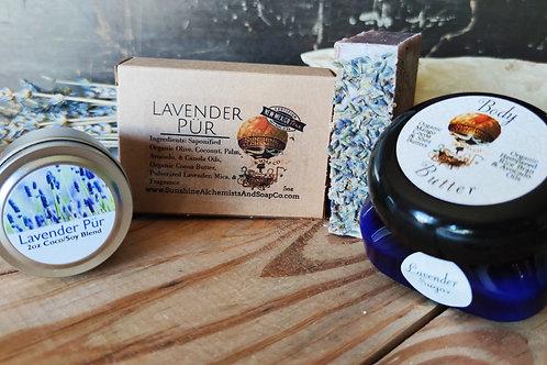 Lavender Go -Lightly Box