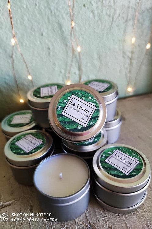 La Lluvia Min-Tin Candle