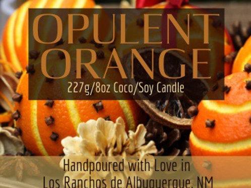 Opulent Orange  9oz Square Candle