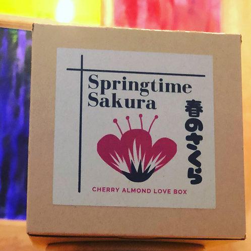 Springtime Sakura Cherry Almond Love Box