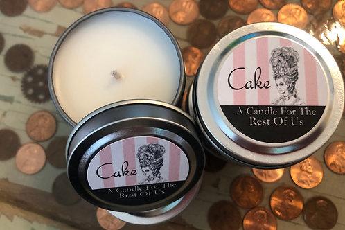 Cake Min-Tin Candle