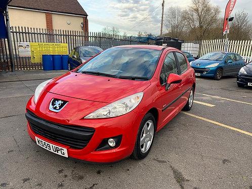 Peugeot 207 2009 (59 reg)  1.4 Verve 5dr