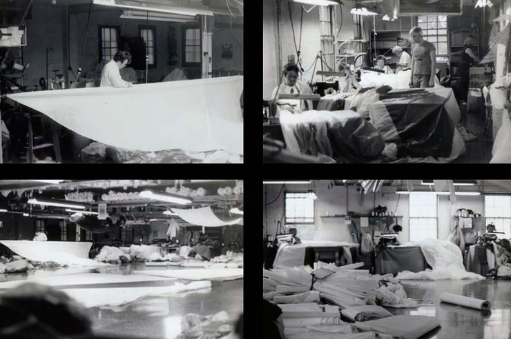Circa 1973, City Island loft.