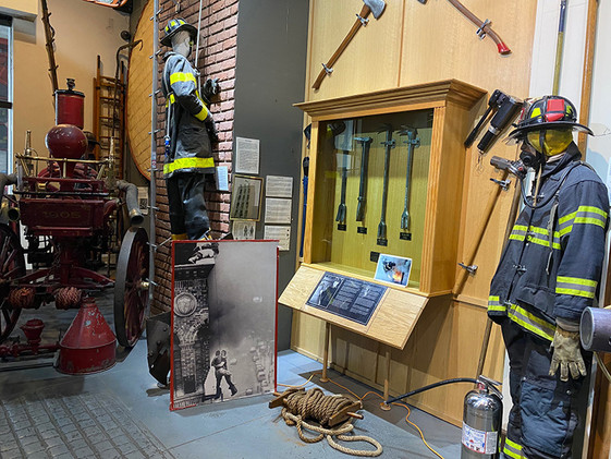 Tools and equipment used in the fire service for forcible entry and rescue efforts.