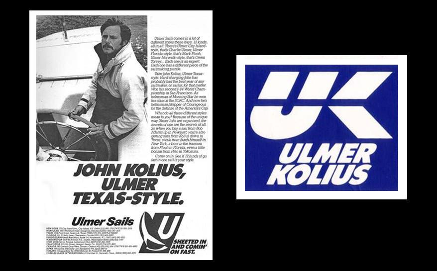 Ulmer Kolius ad, featuring John Kolius.