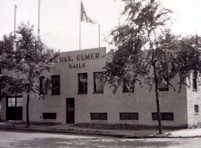 1950's, Charles Ulmer original building.