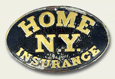 The Home Insurance Company. New York, NY., 1853 – 1995
