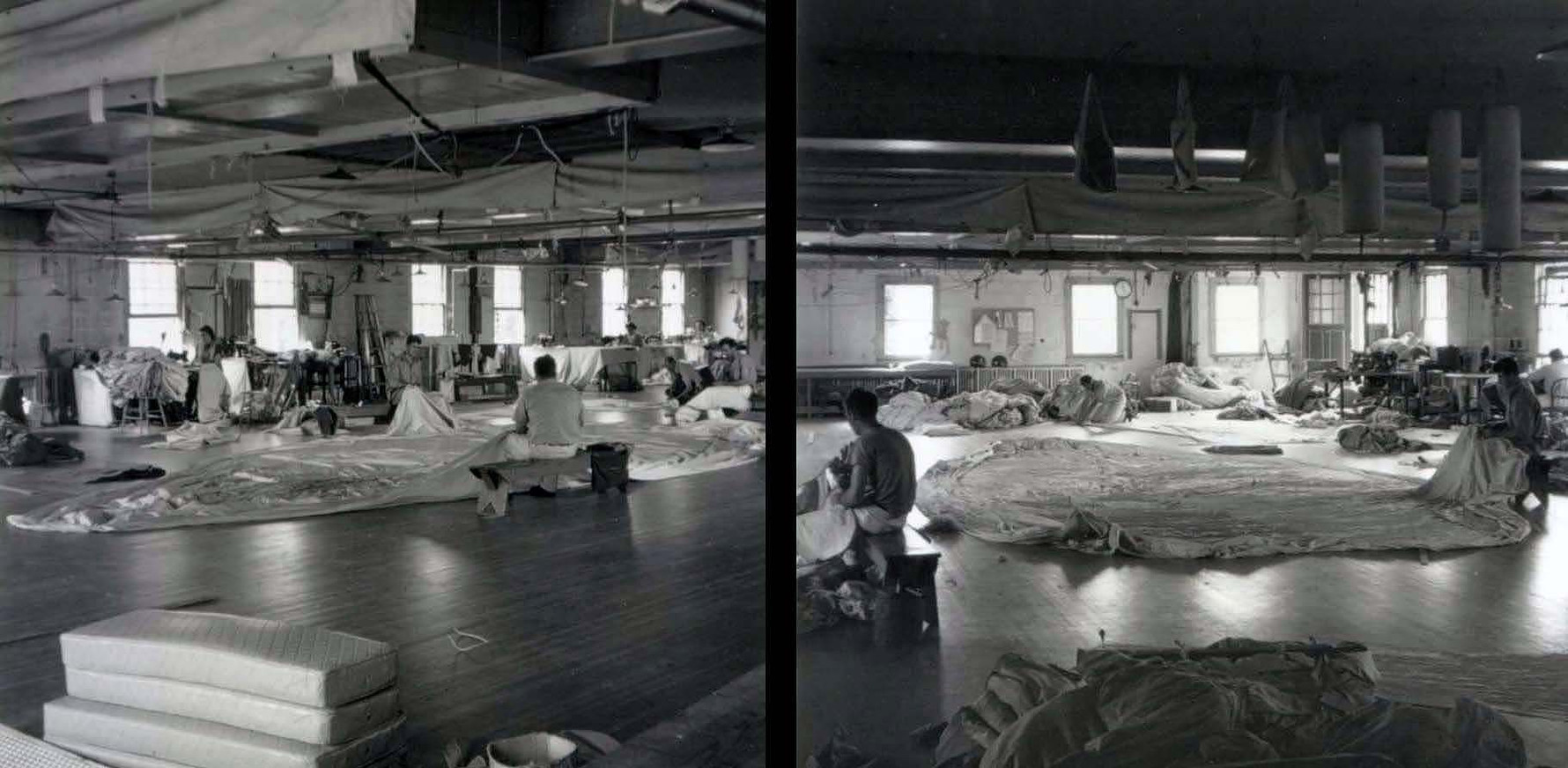Circa 1950's, the original Ulmer loft.