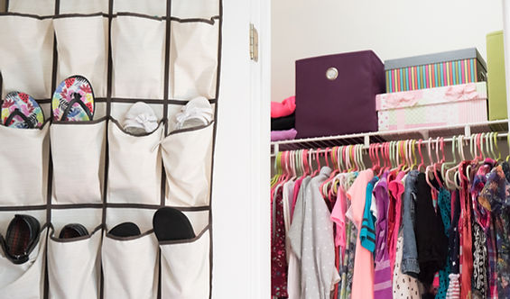 closet organization and design, home organization near me