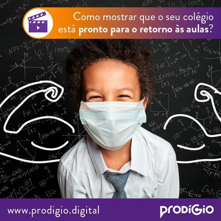 Como mostrar que o seu colégio está pronto para o retorno às aulas em Curitiba