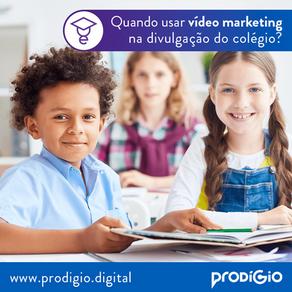 Vídeo Marketing para Colégios