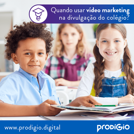 Vídeo Marketing para Colégios