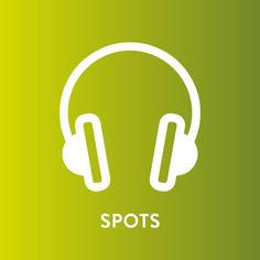 Spots de manifesto, de impacto de varejo, institucionais, datas festivas, atuação e diálogo, entre outros.