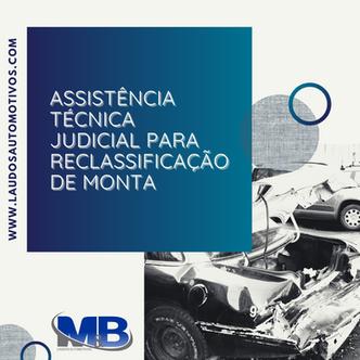 Reclassificação de monta de veículo - laudo de recuperabilidade