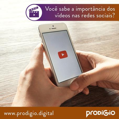 Você sabe a importância dos vídeos nas redes sociais?