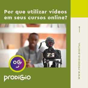 Por que utilizar vídeos em cursos online?