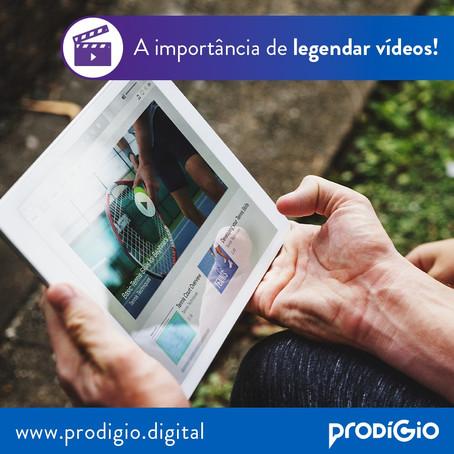 Descubra a importância de legendar seus vídeos e ferramentas para começar hoje mesmo!