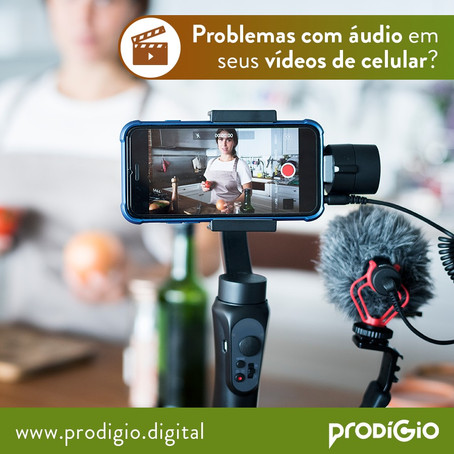 Problemas com áudio em seus vídeos com o celular? Saiba mais sobre Microfone Rode!