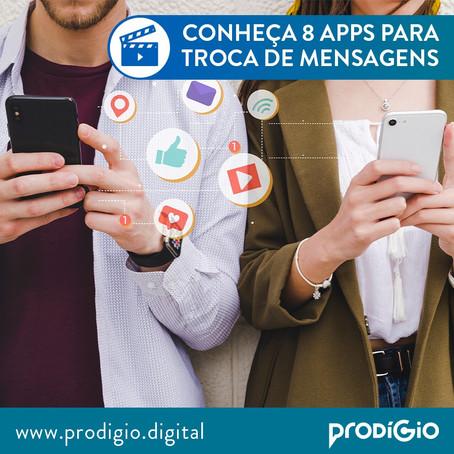 Aplicativos gratuitos para trocar mensagens de texto, vídeo e áudio