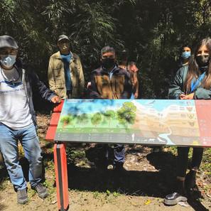 Habilitan señalética interpretativa en único acceso terrestre al Parque Nacional Corcovado