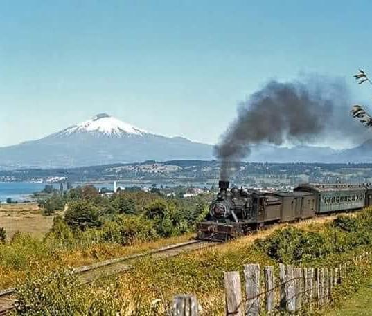 Tren por Frutillar