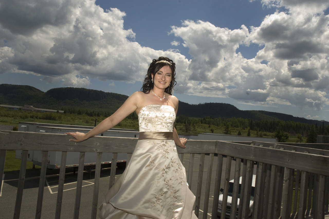 Wedding Photograph in Thunder Bay