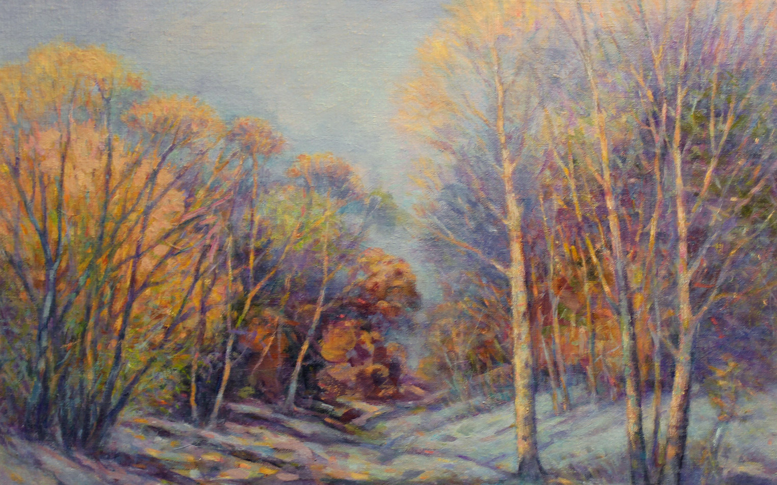 Winter Chill 16 x 20